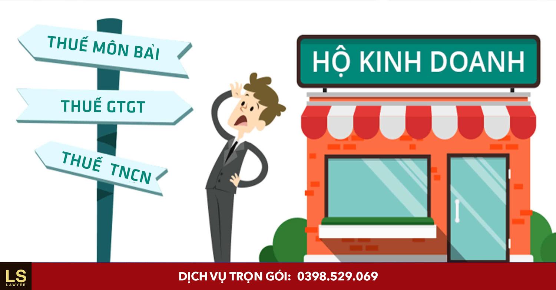 Dịch vụ Đăng ký hộ kinh doanh cá thể trọn gói, chi phí thấp