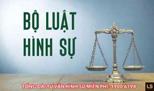 Tội giết người theo quy định của pháp luật hình sự